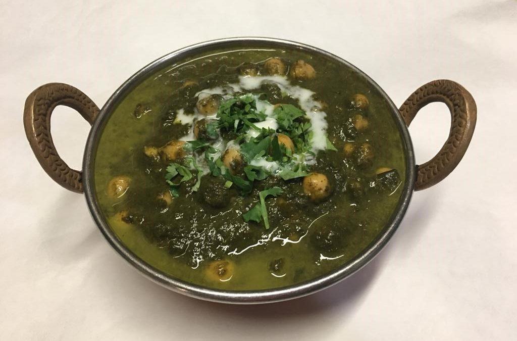 SaagPaneer/ Saag Aloo/ Saag Channa